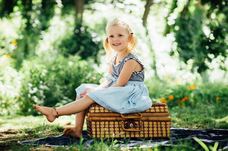 adorable in her bamboo + organic cotton skirt picnic style fashion shoot xx