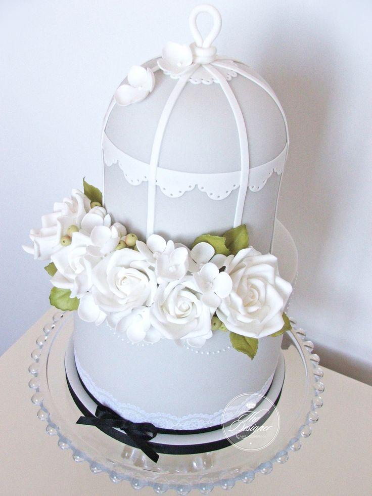 Birdcage Wedding Cakes Pinterest