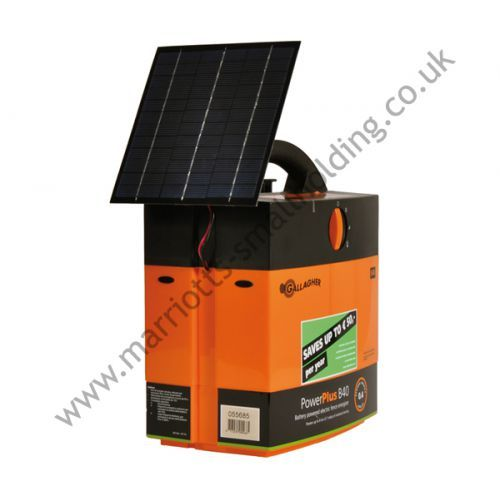 Gallagher Solar Power Energiser B40 incl. 4W Solar Assist - £190.00 ex. VAT #Gallagher, #ElectricFencing, #Energiser