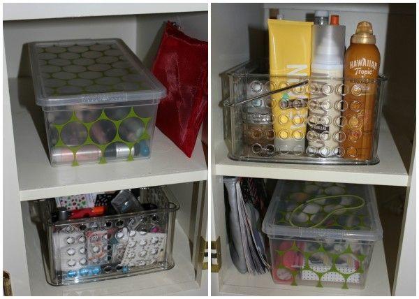 Organizing A Teenage Girl's Bathroom | JOYFUL scribblings