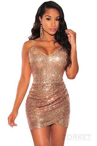 Women's V-Neck Sleeveless Mini Dress