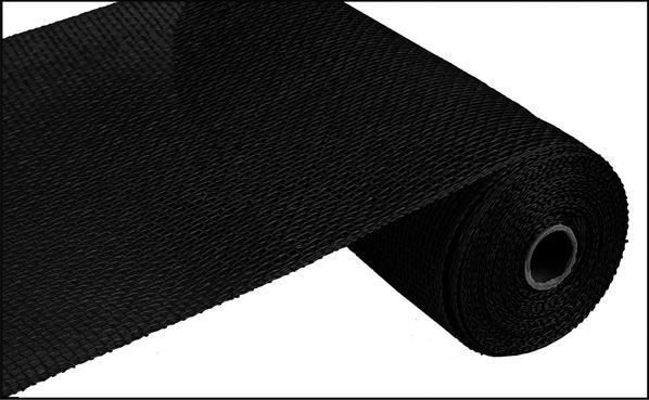 Poly Burlap Mesh Black 10 X 10 Yards Deco Mesh Burlap Wreath Supplies