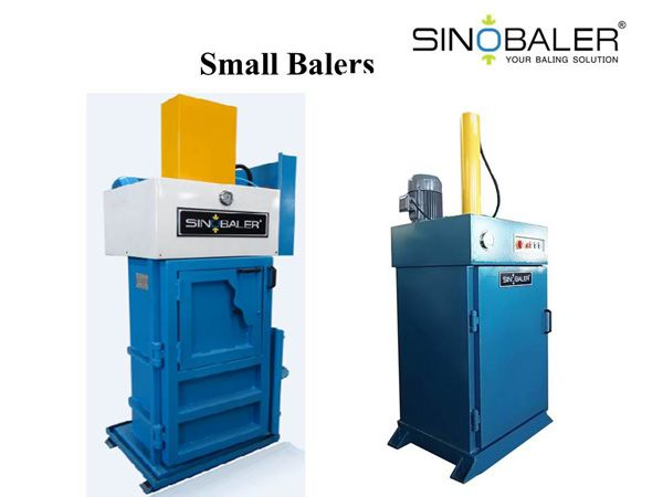 Vertical marine baler or oil drum crusher is a typical small baler machine. all baling machines, mini balers, small baler for sale
