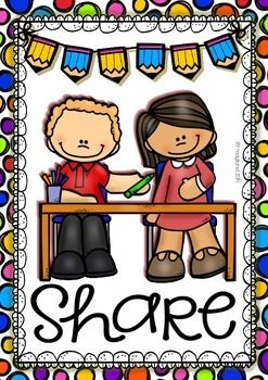 CLASSROOM RULES (15 COLOR POSTERS) 24 HOURS FREE - TeachersPayTeachers.com