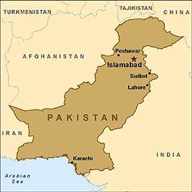 Pakistan is a federation of four provinces: Punjab, Sindh, Khyber Pakhtunkhwa and Balochistan, as well as the Islamabad Capital Territory and the Federally Administered Tribal Areas in the northwest, which include the Frontier Regions. Lahore is the capital of the Pakistan province of Punjab. Karachi is the largest and most populous metropolitan city of Pakistan and its main seaport and financial centre, as well as the capital of Sindh province.