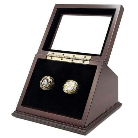 MLB 1970 1983 Baltimore Orioles World Series Championship Replica Fan Rings with Wooden Display Case Set#oriolesrings#orioles