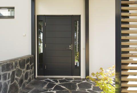 Uuden ulko-oven asentaminen vanhaan oviaukkoon on helppoa