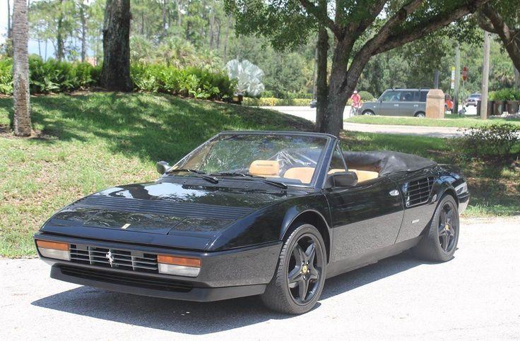 Nice Ferrari 2017: 1986 Ferrari Mondial Cabriolet 2+2 cabriolet 1986 Ferrari Mondial Cabriolet 2+2 cabriolet 60,500 Miles Bla