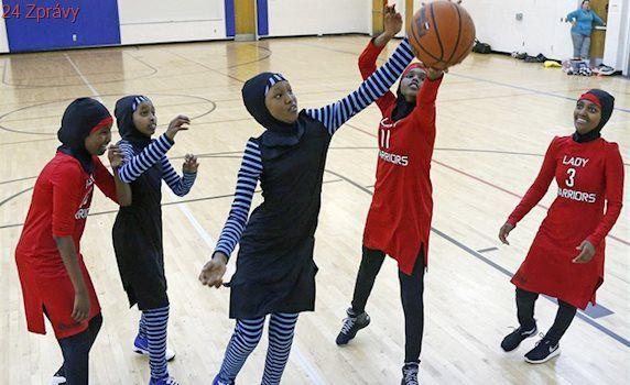 Hidžáb dostal zelenou. Na basketbalové hřiště se vracejí pokrývky hlavy