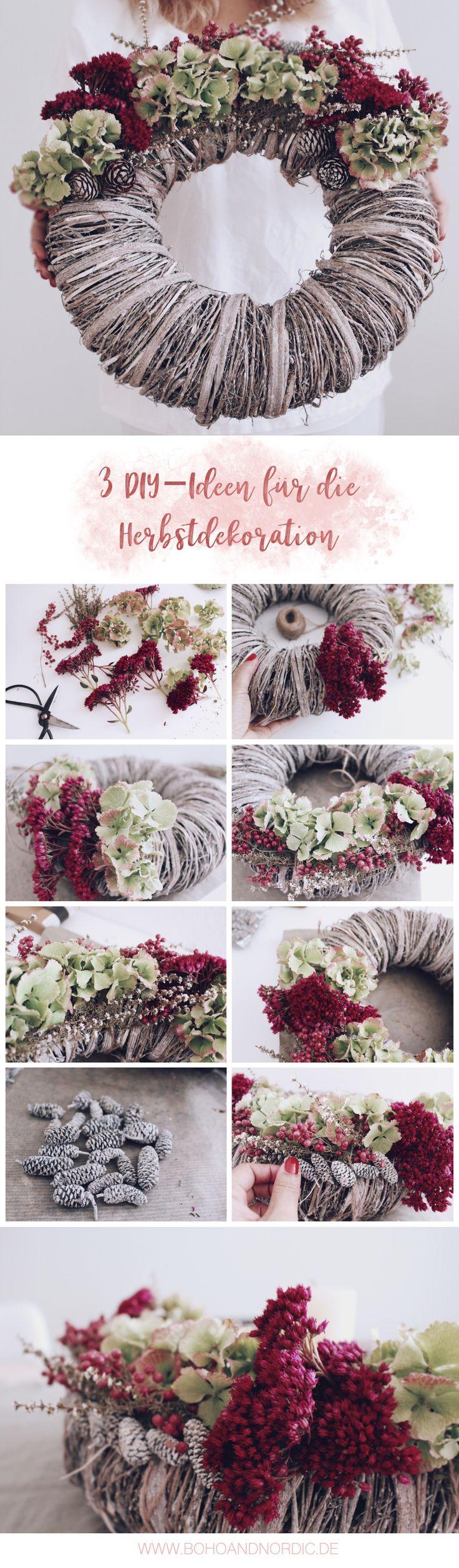 61 best DIY Herbst images on Pinterest   Diy dekoration, Advent und ...