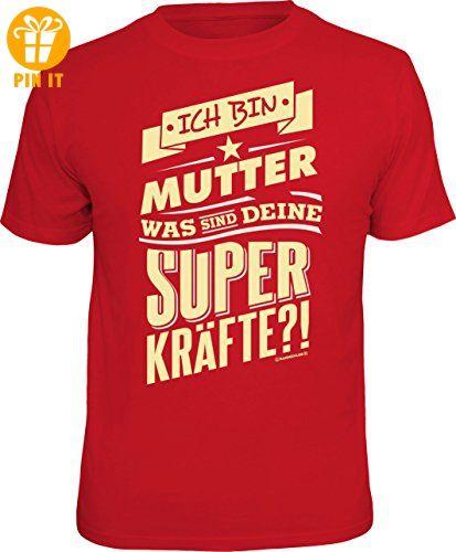 Das T-Shirt für die Mama: ich bin Mutter, was sind deine Superkräfte? In Größe XXL - T-Shirts mit Spruch | Lustige und coole T-Shirts | Funny T-Shirts (*Partner-Link)