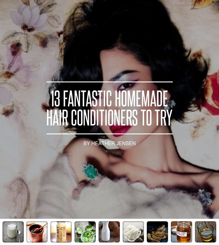 13 #Fantastic Homemade Hair Conditioners to Try ... - Hair