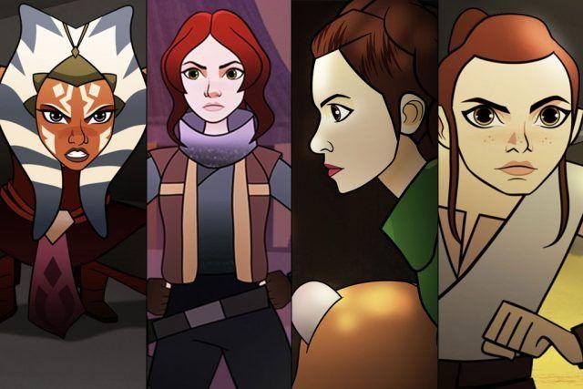 Disney desvela el primer avance de su nueva serie animada Star Wars: Forces of Destiny