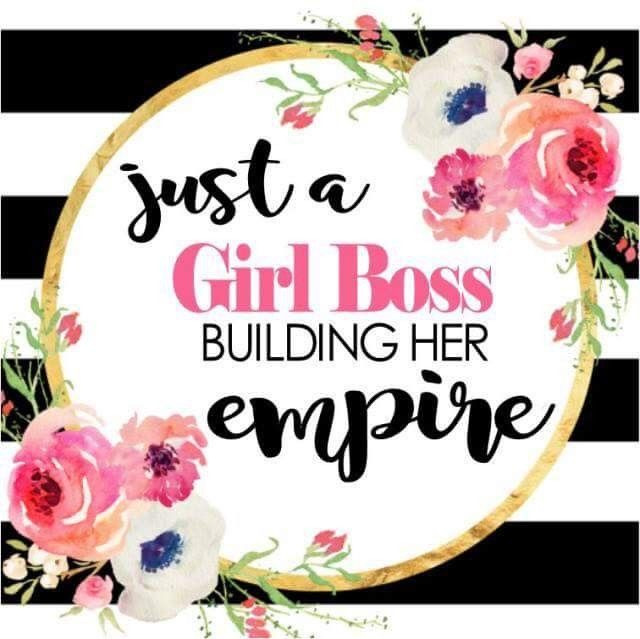 Just A Girl Boss Building Her Empire Wallpaper Lizzysmith Arbonne Com Color Street Color Street Nails