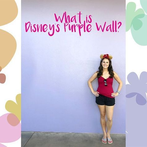 All about the best photo spot in #waltdisneyworld! New blog post: https://adventuresofrs.com/index.php/2017/11/28/what-is-disneys-purple-wall/?utm_content=buffer7fb61&utm_medium=social&utm_source=pinterest.com&utm_campaign=buffer Check it out :) #magickingdom #purplewall #purplewallphotos #tomorrowland #epcot #bubblegumwall #toothpastewall #disneyworld #wdw