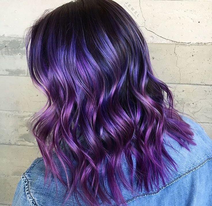 348 best Purple Hair images on Pinterest | Hair color purple, Hair ...