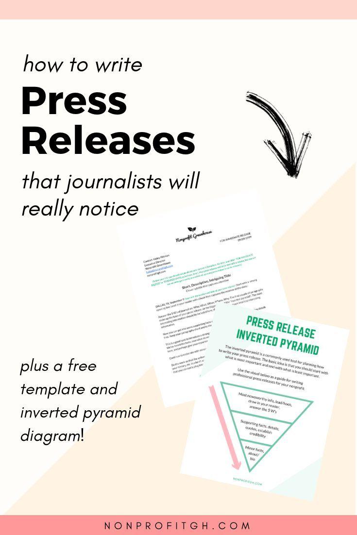 Bluehost Com Writing A Press Release Writing Jobs Writing Career Writing a press release template