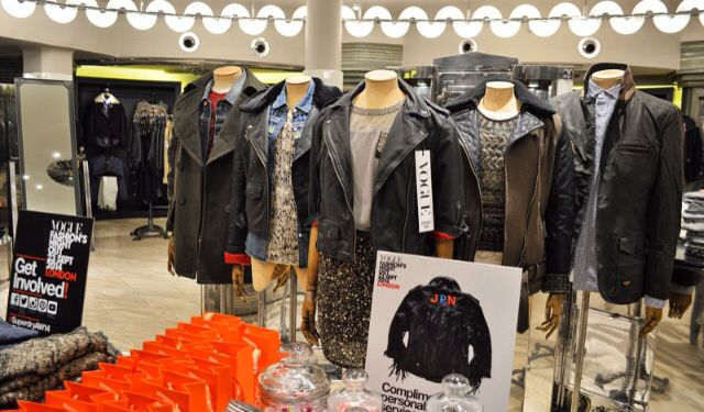 Superdrys new premium collection at #VFNO