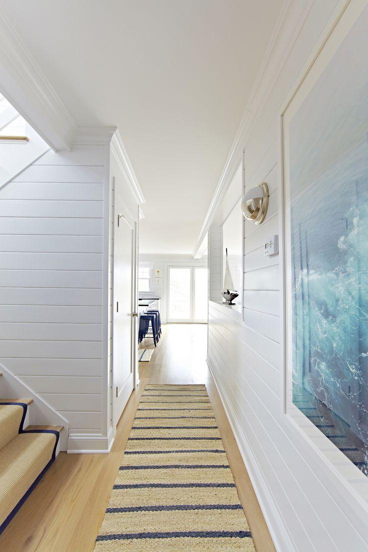 Bay Head Beach Bungalow || Hallway Details || Chango & Co.