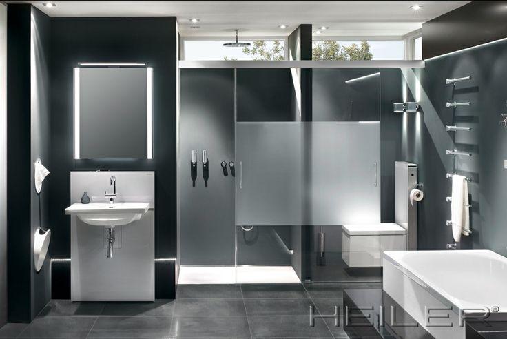 HEILER Glas-Schiebelösung im Badezimmer