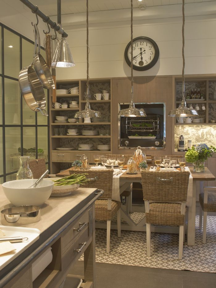 108 best neolith kitchens images on pinterest - Cocinas con comedor ...