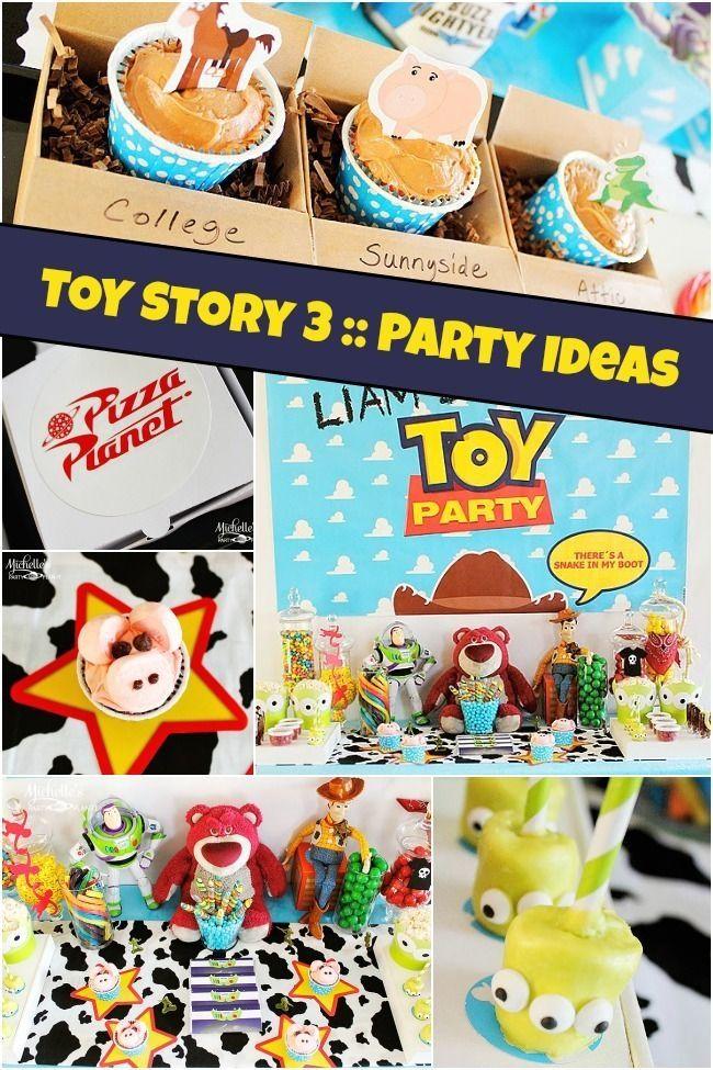 Boy's Toy Story Birthday Party Ideas