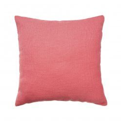 Mercer + Reid Reefton Cushion Coral, pink cushion, cushions