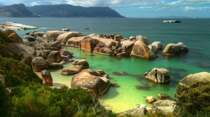 Boulders Beach in Cape Town, South Africa
