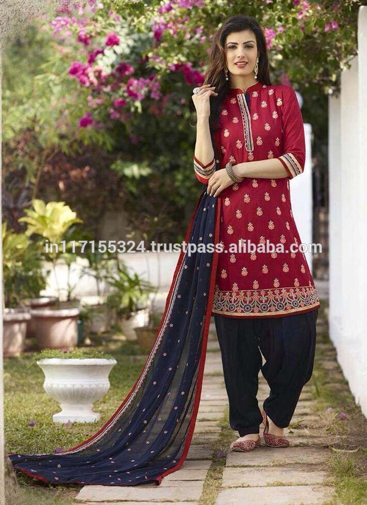 Dernière punjabi les patrons de vêtements-motifs de Broderie salwar kameez-Femme vêtements-Acheter salwar kameez conception