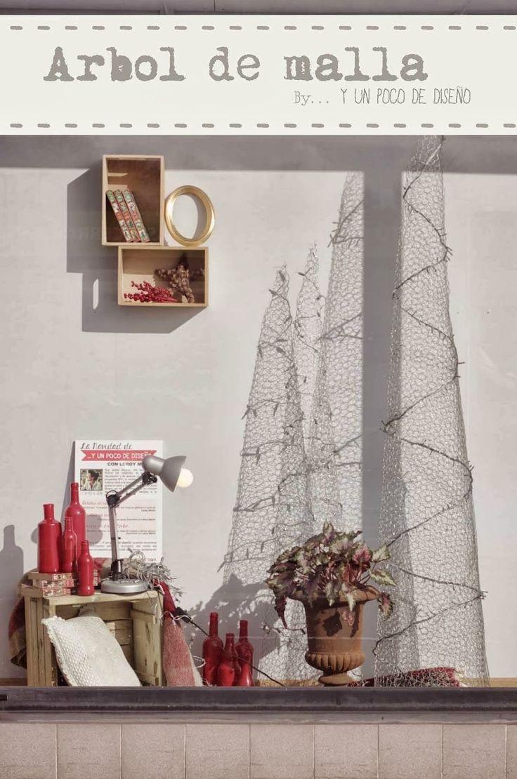 M s de 25 ideas incre bles sobre malla para gallinero en - Arbol de navidad de alambre ...