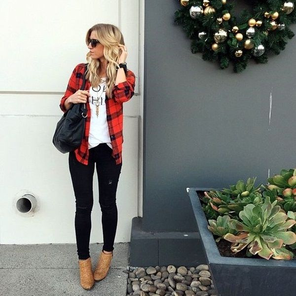 Wear Ankle Boots With Jeans Fashionably (45 Chic Ways) | Ankle Boots with Jeans | Fenzyme.com