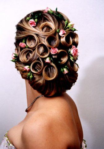 hair styles wedding best 25 pin curl updo ideas on 5287