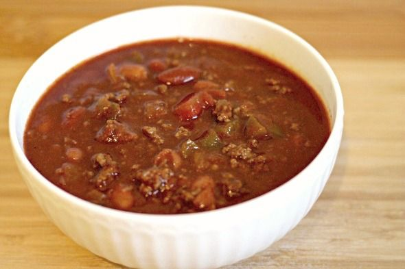THE BEST CHILI   !!!!!!!!!!!!    Copycat Wendy's Chili - This Gal Cooks #soups #wintermeals #dinner