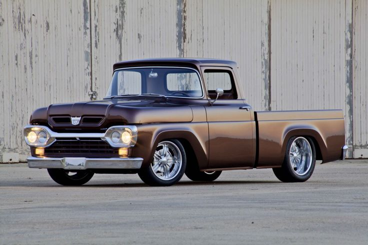 Brilliantly #restored 1960 #Ford F100 truck!  Made in America - Restored from the Motor City!