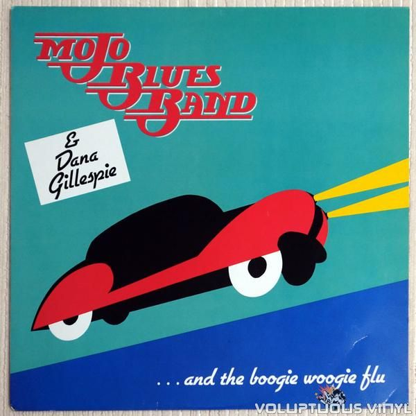 Rare Austrian Chicago blues pressing from the Mojo Blues Band and Dana Gillespie.