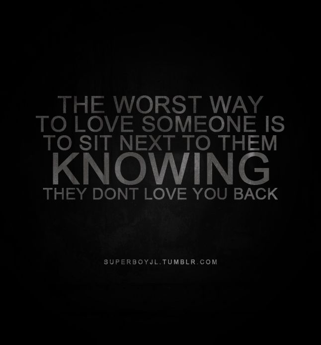 There Is No Way Back Quotes: No It's Not. The Worst Way To Love Someone Is To Sit Next