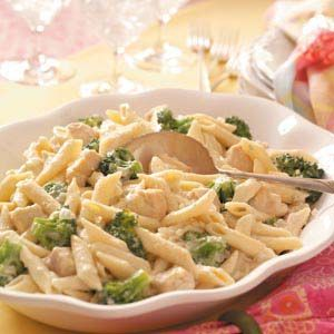 Gorgonzola Chicken Penne. Read the reviews and find a way to make this your own.