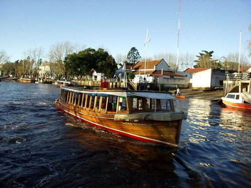 The little ferry in Tigre, Argentina