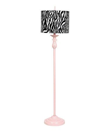 Take a look at this Pink Floor Lamp by Jubilee Collection on #zulily today!