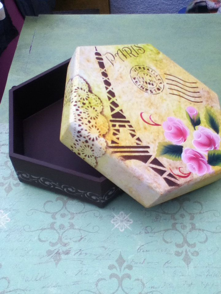 Box - OSP, stencils, stamps