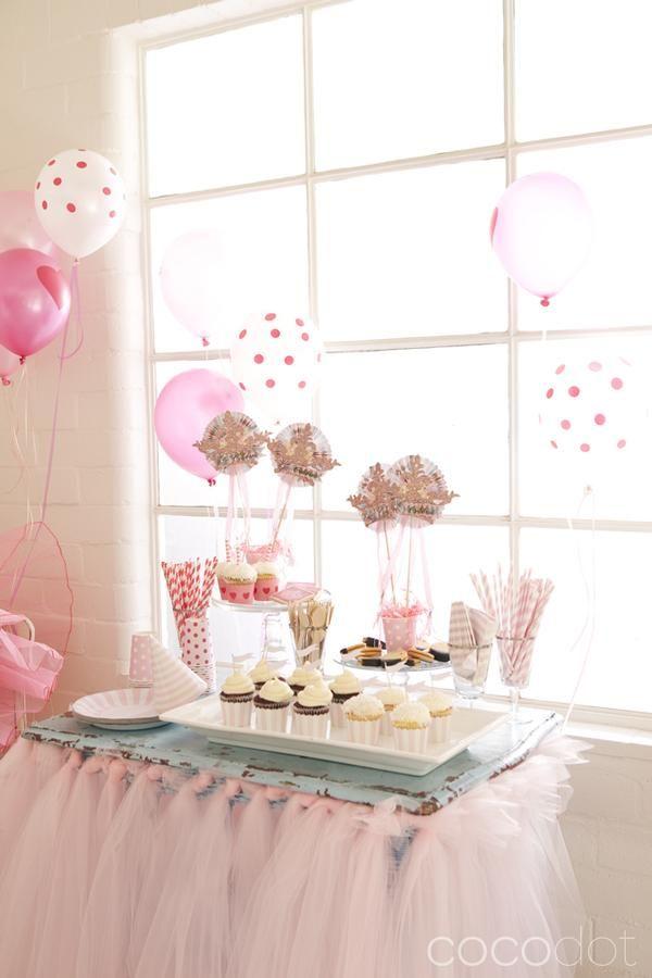 Princess party! ~~ dessert table