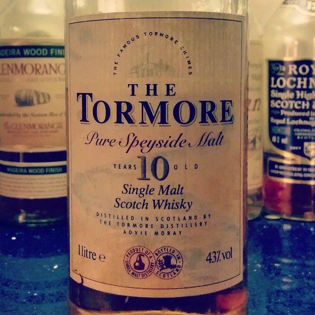 The Tormore Pour Speyside Malt 10yo. #whisky #dramtime #oldbottles