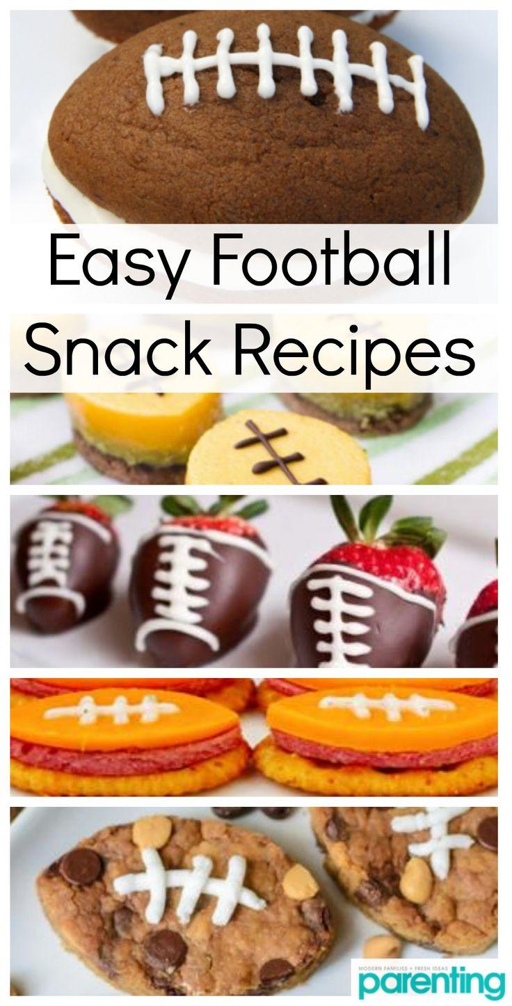 Touchdown Treats Cute FootballShaped Foods Your Kids