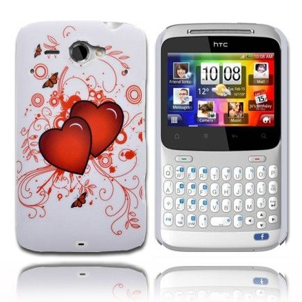 Valentine (Two Red Hearts) HTC ChaCha Cover