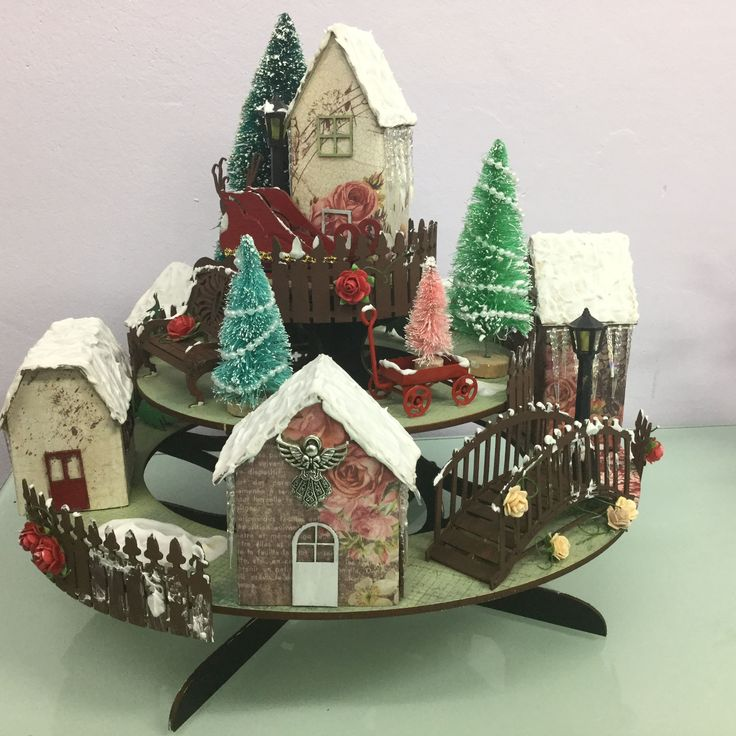Christmas Village designed by Jo Johnson. Copyright Imagine If 2016