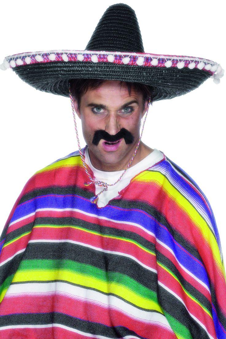 Sombrero messicano da adulto su VegaooParty, negozio di articoli per feste. Scopri il maggior catalogo di addobbi e decorazioni per feste del web,  sempre al miglior prezzo!