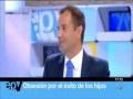 Gonzalo Corrales, Director de AGM Sports (www.agmsports.com), en el programa Espejo Público de Antena 3, participando en un debate sobre los beneficios del deporte para jóvenes de todas las edades.