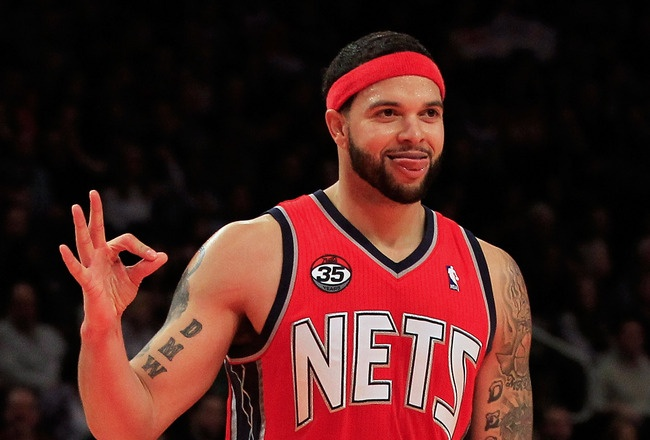 Deron Williams drops 57 points in win against the Bobcats.