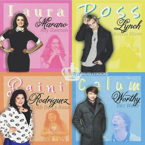 Austin and Ally!!!