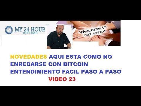 MY 24 HOUR INCOME ESPAÑOL 23 NOVEDADES BTC CON JORGE IVAN FRANCO